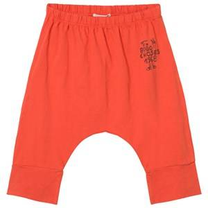 Bobo Choses Boys Bottoms Red 1968 Baggy Baby Trousers Red Clay