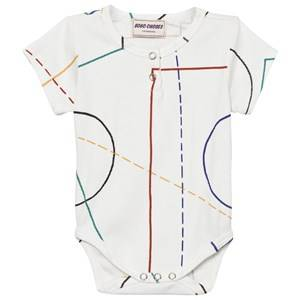Bobo Choses Girls All in ones White Court Baby Body Off White