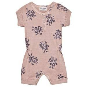 Bobo Choses Boys All in ones Pink 1968 Romper Off Rose