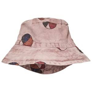 Bobo Choses Unisex Headwear Pink Basket Ball Bob Bucket Hat Off Rose