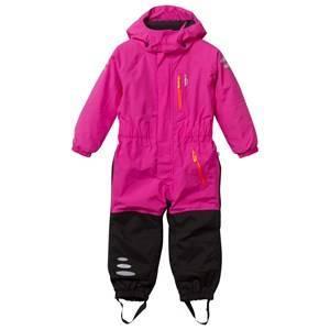 Isbjörn Of Sweden Unisex Childrens Clothes Coveralls Pink Penguin Winter Jumpsuit Smoothie