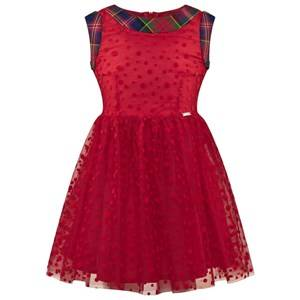 Jean Paul Gaultier Junior Gaultier Girls Dresses Red Tulle Spot Party Dress