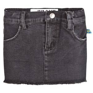 The BRAND Girls Private Label Skirts Black Denim Jegging Skirt Heavy Washed Black