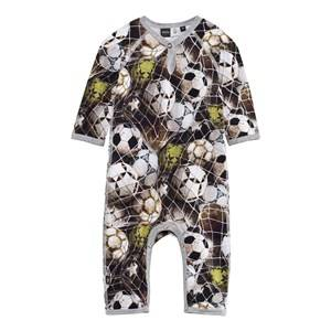 Molo Unisex Childrens Clothes All in ones Multi Fleming Baby One-Piece Ball Net