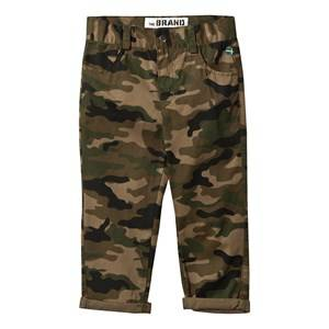 The BRAND Boys Childrens Clothes Bottoms Green Chinos Camo