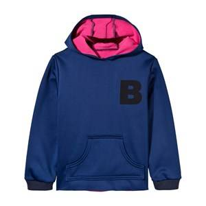 The BRAND Unisex Private Label Jumpers and knitwear Blue Neoprene Hoodie Blue