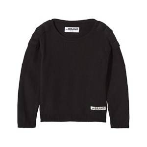 The BRAND Unisex Childrens Clothes Jumpers and knitwear Black Uni MC Knit Sweater Black