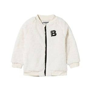 The BRAND Unisex Childrens Clothes Fleeces White Baby Teddy Bomb Off White