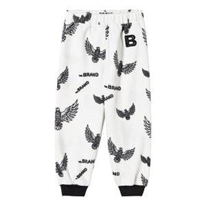 The BRAND Unisex Childrens Clothes Fleeces White Fleece Pants Off White Eagles