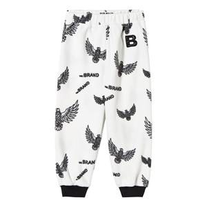 The BRAND Unisex Private Label Fleeces White Fleece Pants Off White Eagles