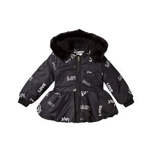 The BRAND Unisex Childrens Clothes Coats and jackets Black Peplum Winter Jacket Black Love