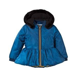 The BRAND Unisex Childrens Clothes Coats and jackets Blue Peplum Winter Jacket Blue