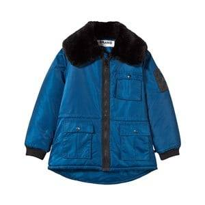 The BRAND Unisex Private Label Coats and jackets Blue Faux Fur Parka Blue