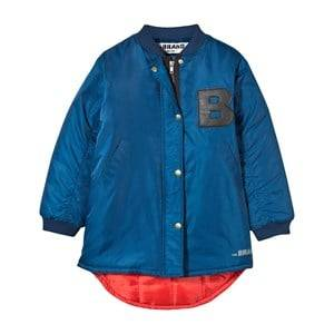 The BRAND Unisex Childrens Clothes Coats and jackets Blue Bomb Parka Blue