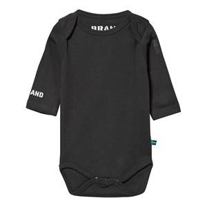 The BRAND Girls Childrens Clothes All in ones Black Eagle Baby Body