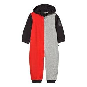 The BRAND Boys Private Label All in ones Multi Baby Block Black Onesie Red Grey Mel