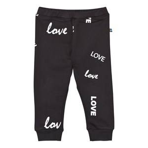 The BRAND Girls Childrens Clothes Bottoms Black Baby Bomber Pants Black Love