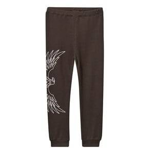 The BRAND Unisex Private Label Bottoms Black Baby Waffle Pants Almost Black