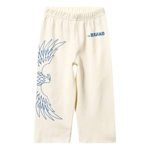 The BRAND Boys Childrens Clothes Bottoms White Loose Waffle Sweatpant Off White