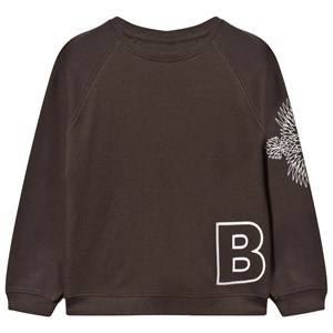 The BRAND Boys Childrens Clothes Jumpers and knitwear Black Loose Sweat Shirt Black