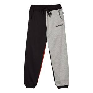 The BRAND Boys Childrens Clothes Bottoms Multi Block Sweatpants Black Red Grey Mel