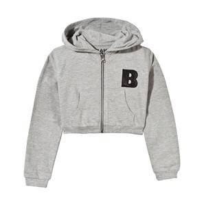The BRAND Boys Childrens Clothes Jumpers and knitwear Grey Short Hoodie Grey