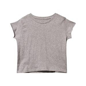 The BRAND Girls Childrens Clothes Tops Grey Fringe Back Top Grey