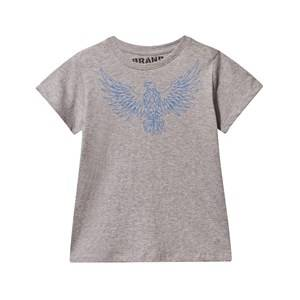 The BRAND Boys Childrens Clothes Tops Grey Eagle Tee Grey