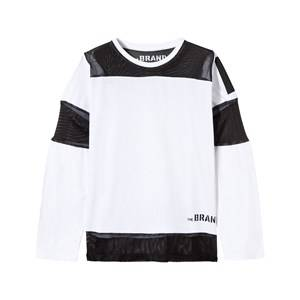 The BRAND Boys Childrens Clothes Tops White Mesh Tee White