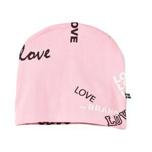The BRAND Girls Childrens Clothes Headwear Pink Hat Pink Love