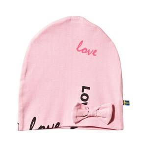 The BRAND Girls Childrens Clothes Headwear Pink Bow Hat Pink Love