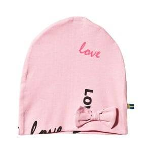 The BRAND Girls Private Label Headwear Pink Bow Hat Pink Love