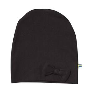 The BRAND Girls Childrens Clothes Headwear Black Bow Hat Black