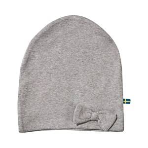 The BRAND Unisex Childrens Clothes Headwear Grey Bow Hat Grey Melange
