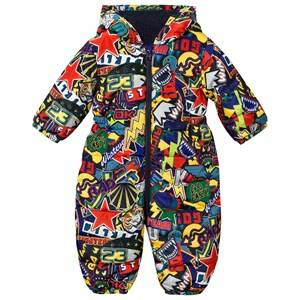Stella McCartney Kids Unisex Childrens Clothes Coveralls Multi Scout Stickers Coverall