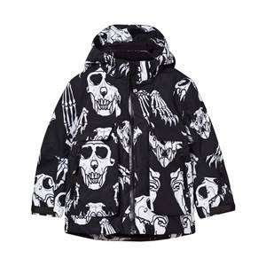 Molo Unisex Childrens Clothes Coats and jackets Multi Alpine Jacket Skulls