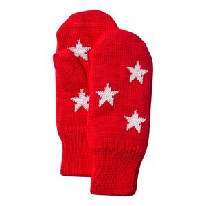 Molo Unisex Childrens Clothes Gloves and mittens Red Snowfall Mittens True Red