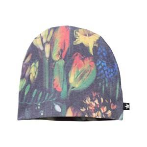 Molo Unisex Childrens Clothes Headwear Multi Kay Hat Botanic