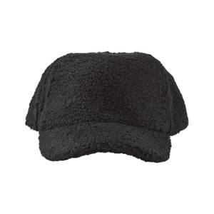 Molo Unisex Childrens Clothes Headwear Black Sidse Hat Black