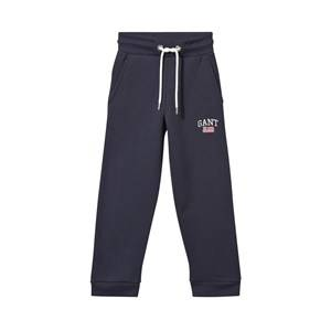 Gant Boys Childrens Clothes Bottoms Navy Sweat Pants Navy