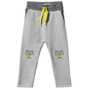 Kenzo Girls Childrens Clothes Bottoms Grey Aelys Sweat Pants Marl Grey