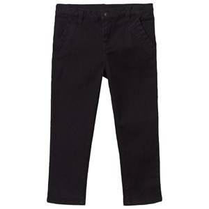 Kardashian Kids Unisex Childrens Clothes Bottoms Black Cotton Twill Chino Pants