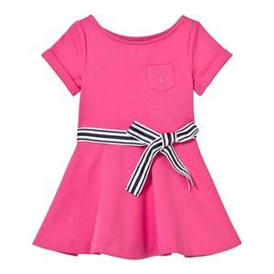 Ralph Lauren Girls Dresses Ponte Fit-and-Flare Dress Desert Pink