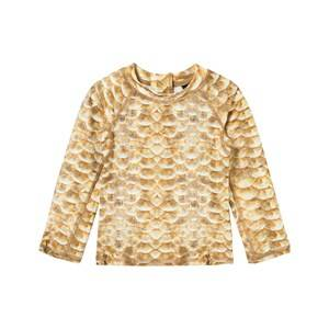 Molo Unisex Swimwear and coverups Gold UV-Top Nemo Gold Fishshell
