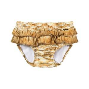 Molo Girls Swimwear and coverups Gold Neena Trunks Gold Fishshell