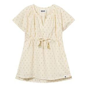 Molo Girls Swimwear and coverups Gold Caly Dress Dot Gold