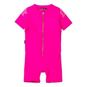 Molo Unisex Swimwear and coverups Pink Neka Solid Swimsuit Knockout Pink