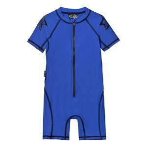 Molo Unisex Swimwear and coverups Blue Neka Solid Swimsuit Deep Sea Blue