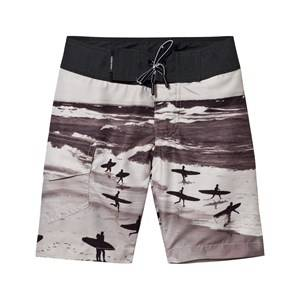 Molo Boys Swimwear and coverups Black Nalvaro Shorts Boardies Running Surfers