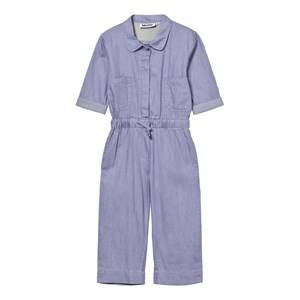 Molo Girls All in ones Blue Angel Jumpsuit Baja Blue
